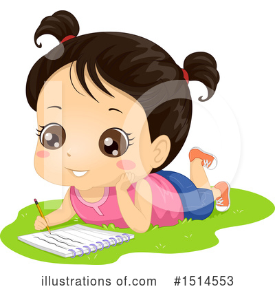 Illustration by bnp design. Clipart writing baby