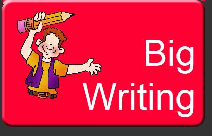 Clipart writing big write.