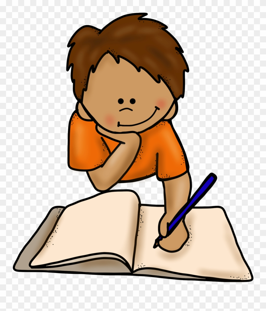 Png library download . Clipart writing boy