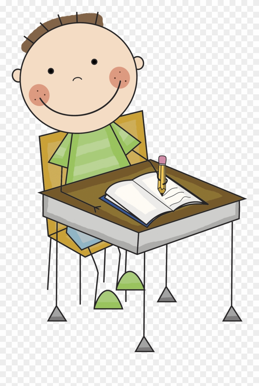 Clipart writing boy. Kids png download pinclipart