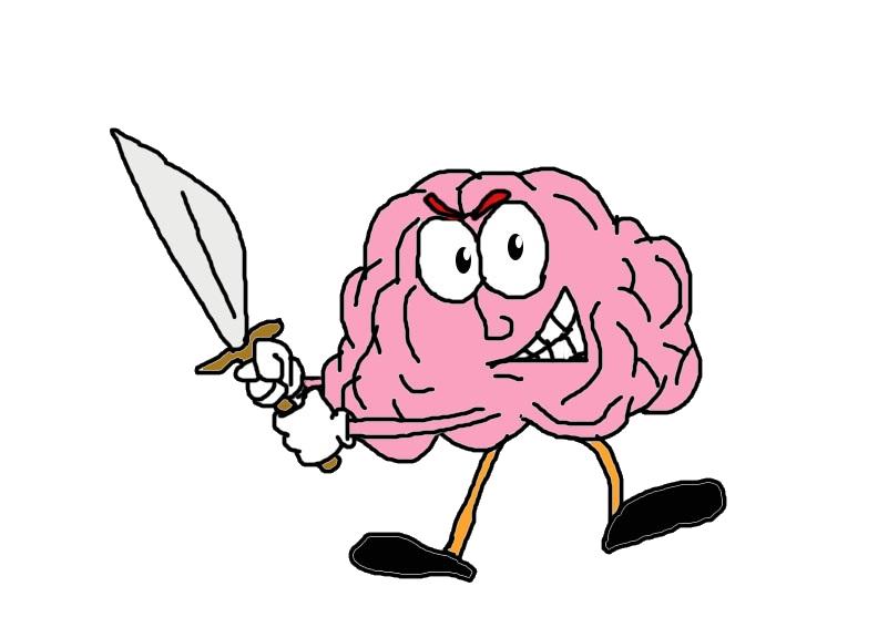 Worry clipart test anxiety. Curiosity calm or brain