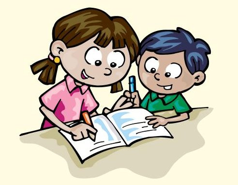 Clipart writing children's. Last month a children