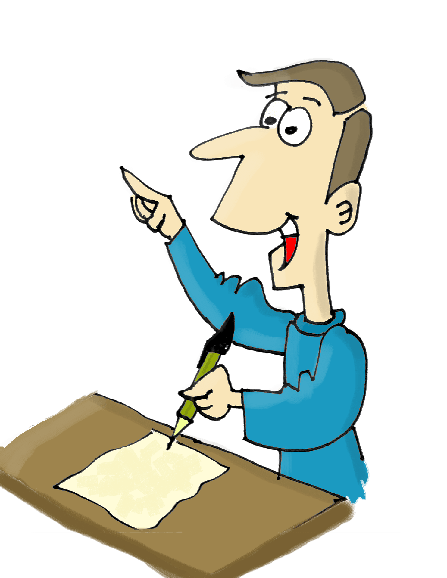 Writer clipart writing article. Train yourself to be