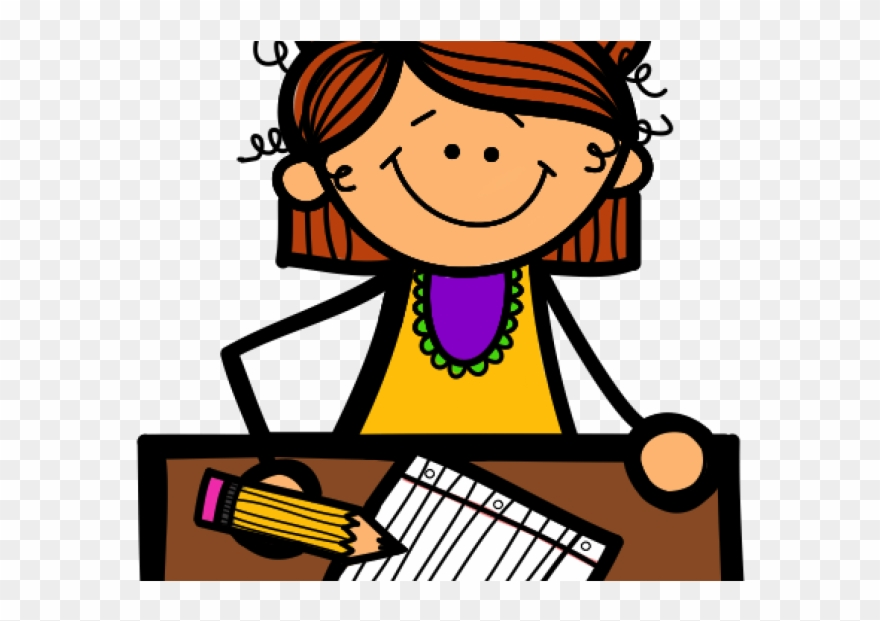 Clipart writing clip art. Students cliparts student working