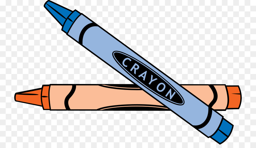Pencil drawing crayon . Draw clipart writing