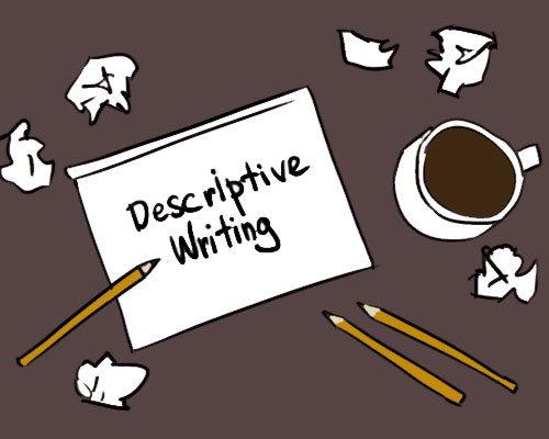 Essay examples to help. Writer clipart descriptive writing