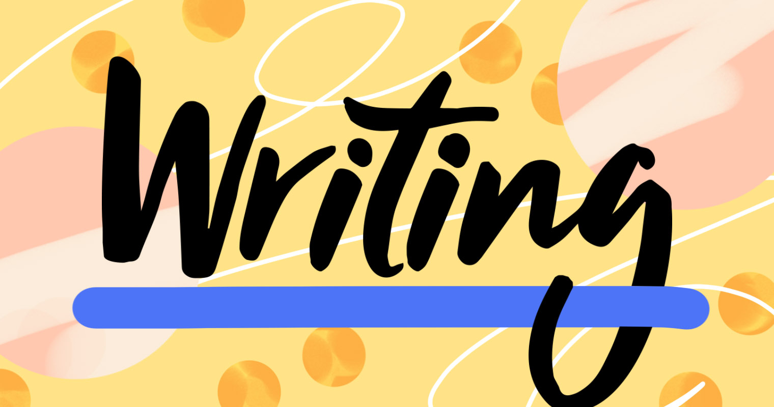 Clipart writing english writing.  simple ways to