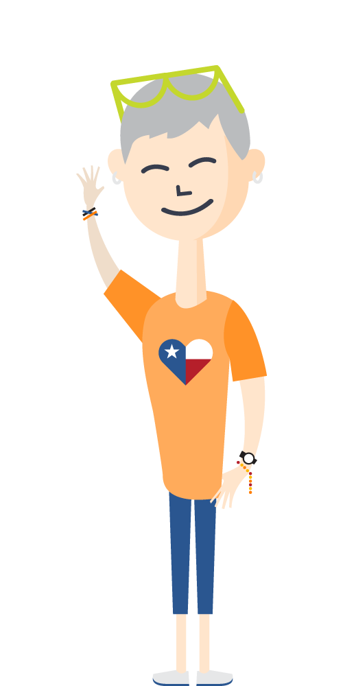 Customer success team campuslogic. Manager clipart educated person