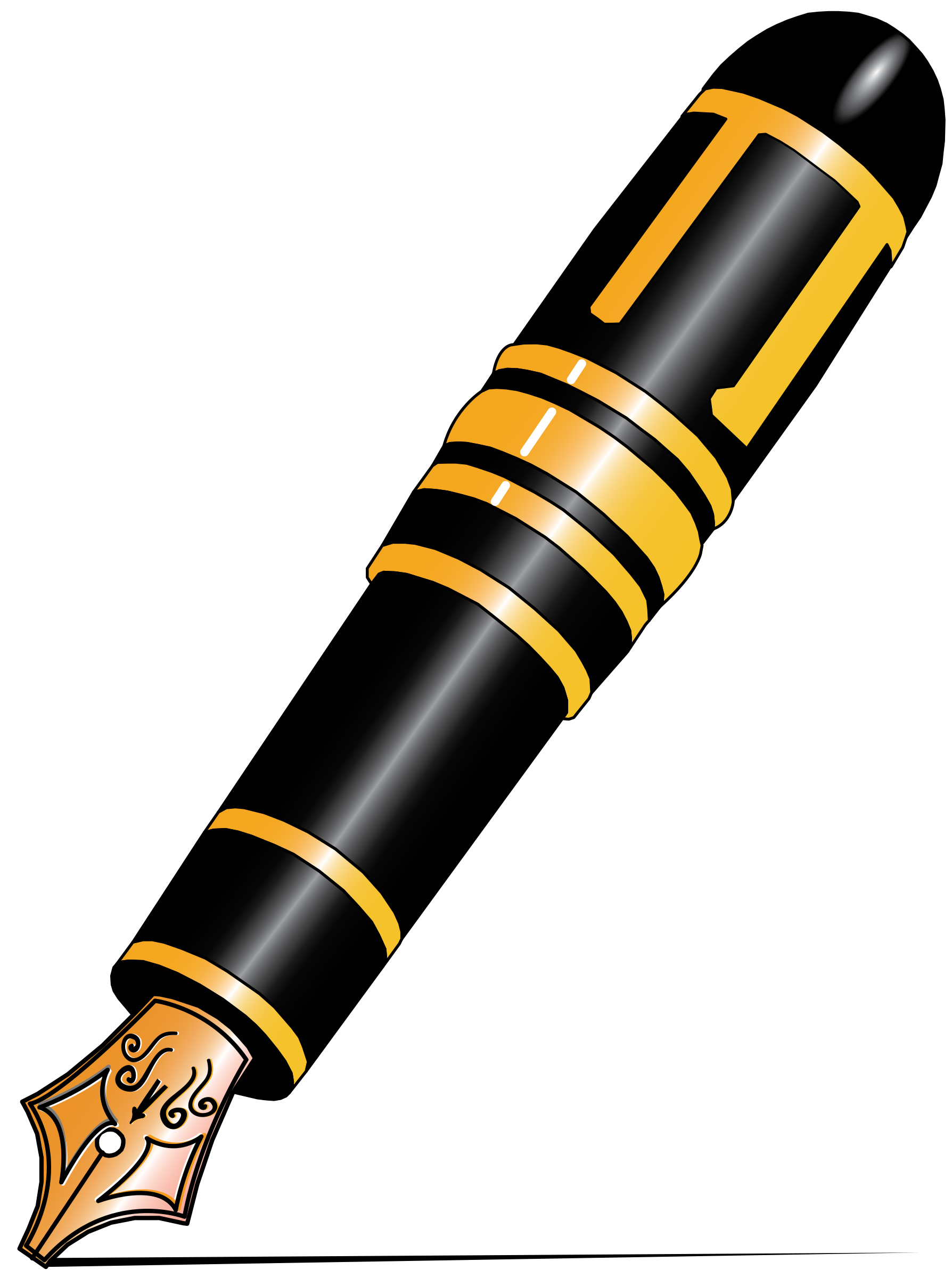 Poetry clipart fountain pen. Mont blanc big image