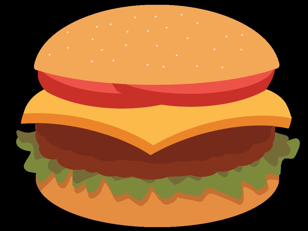 Hamburger drawing at getdrawings. Fries clipart drawn