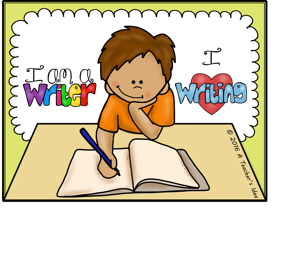 Name clipart kid writing.  collection of independent