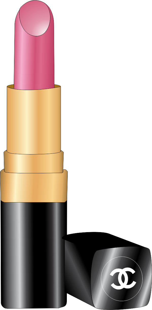 Lipstick clipart makeup kit. Batom channel vetor gratis