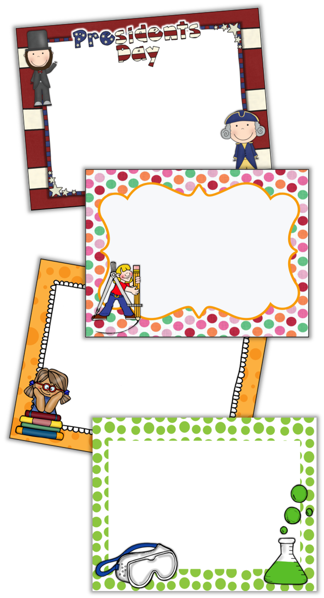 Clipart writing morning work. Set it and forget