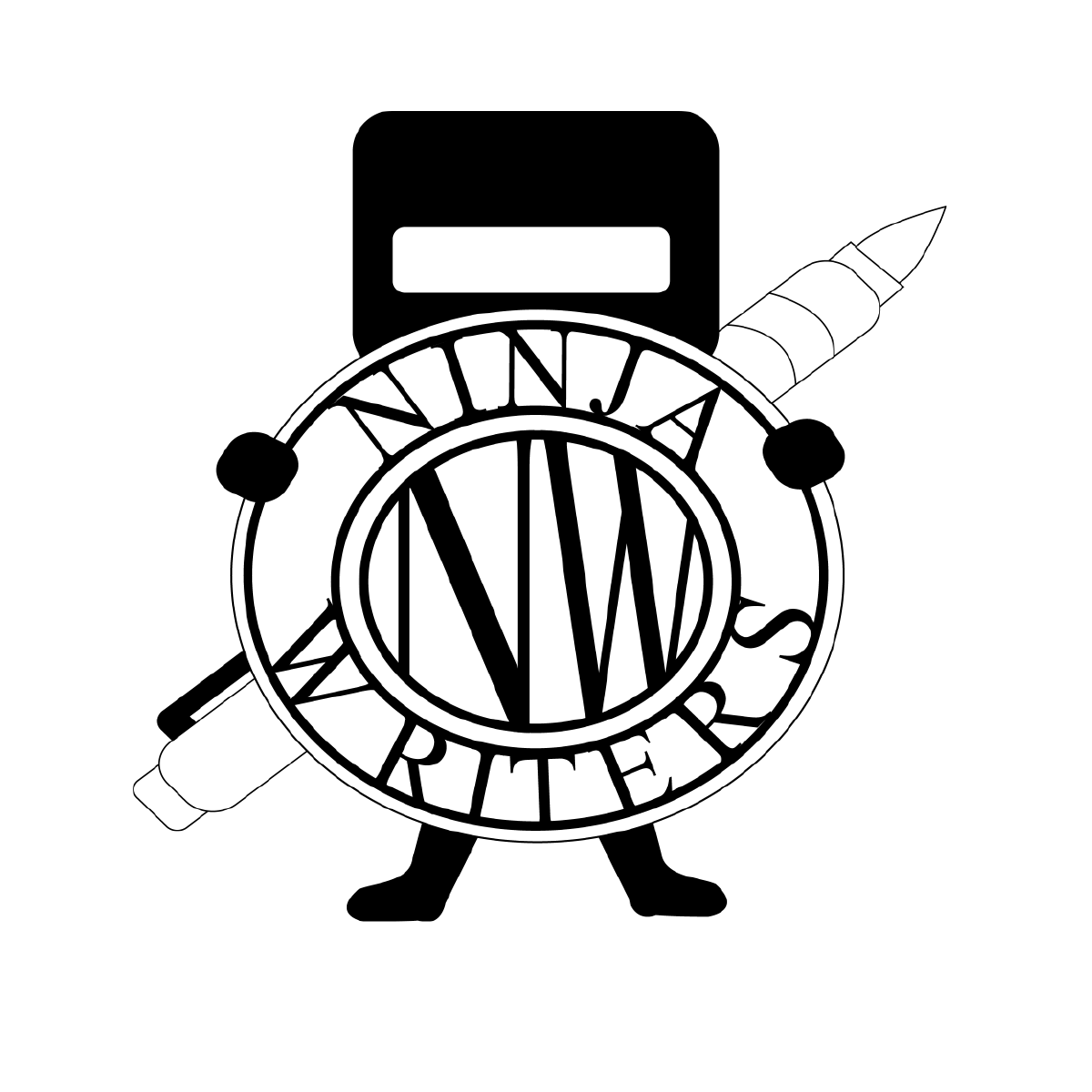 Writer clipart novelist. Ninja writers club the