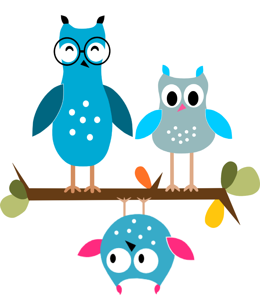 Tinkerbite childcare owls lechuzas. Clipart writing occupational therapy