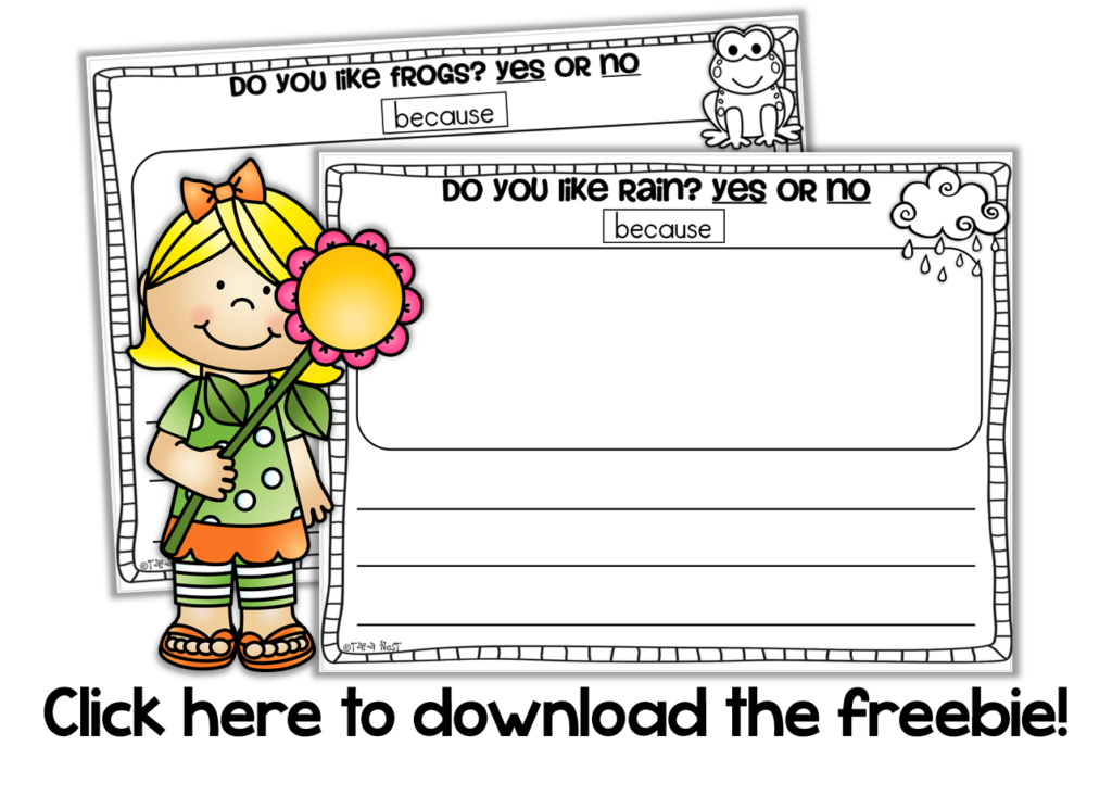 Clipart writing opinion writing. April giveaways freebies more