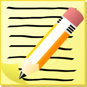 Clipart writing paper and pencil. Free cliparts download clip