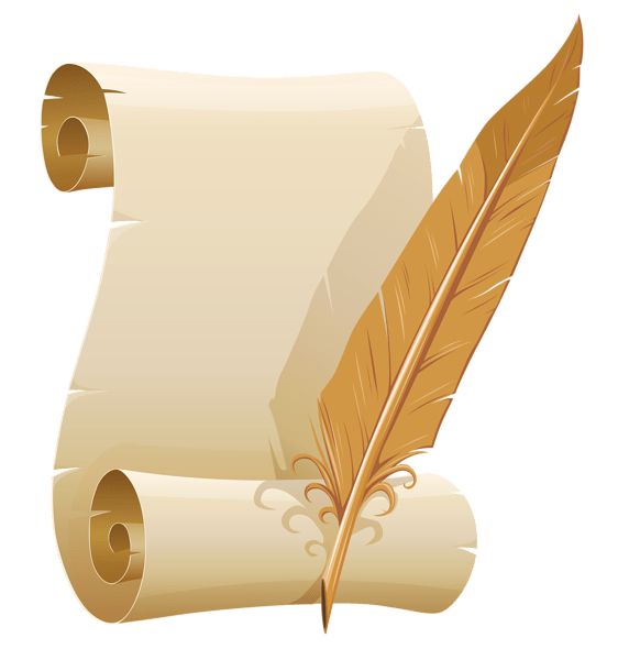 Clipart writing paper form. Scrolled free download