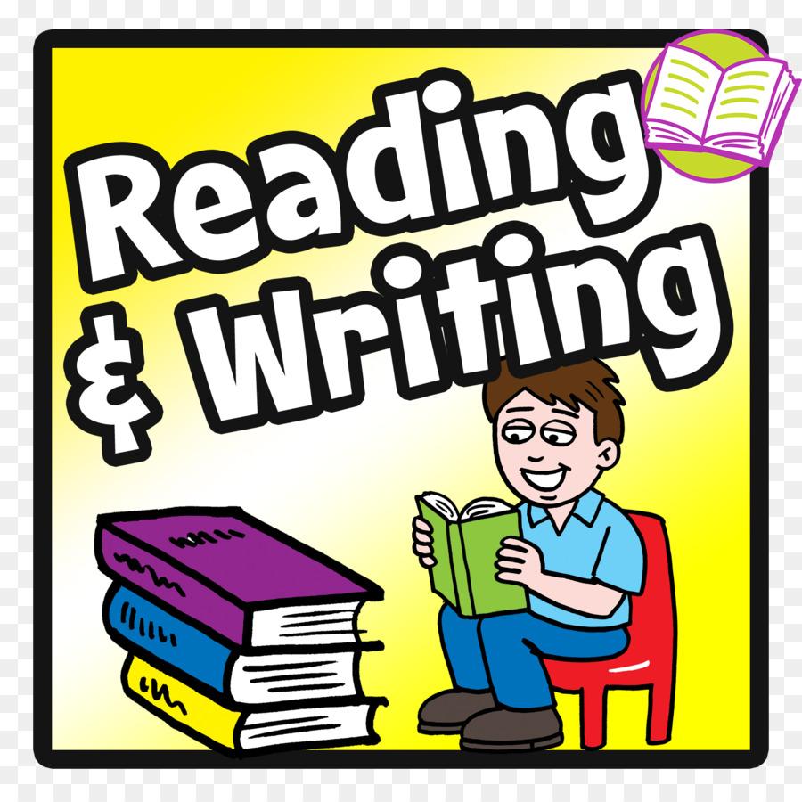Clipart writing reading writing. Cartoon book transparent