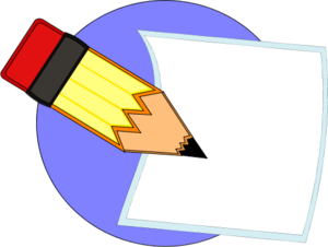 Writer clipart question paper. Writing clip art write