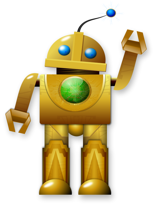 Clipart writing robot. Welcome students and parents