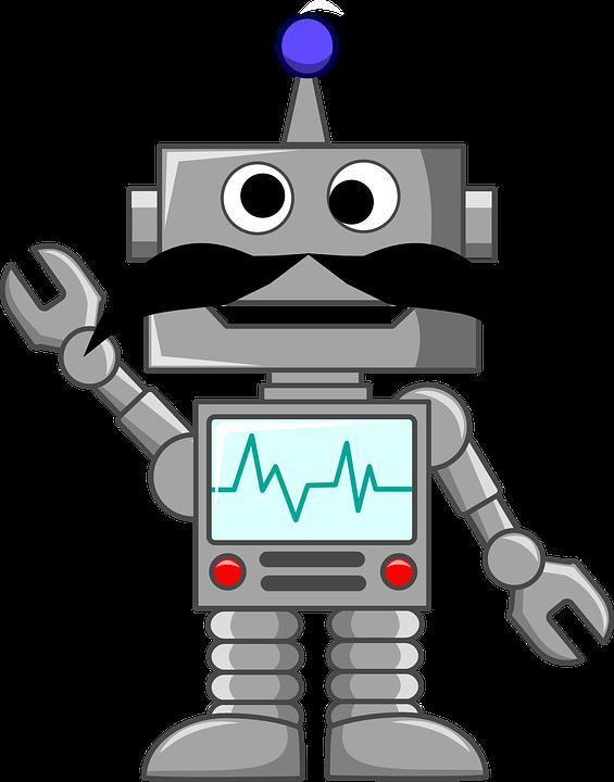 Clipart writing robot. Intermediate png robbie model