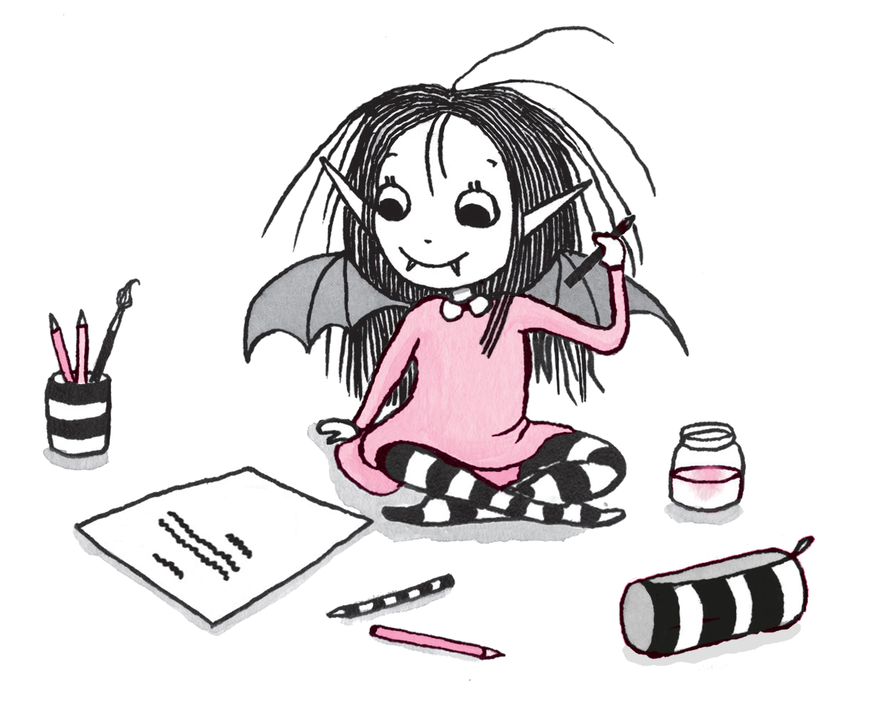 Start your own magical. Clipart writing story writing