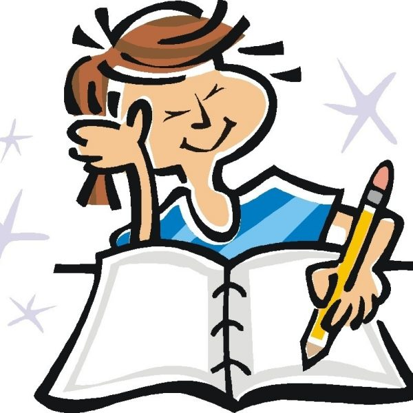 Writing story intended for. Writer clipart clip art