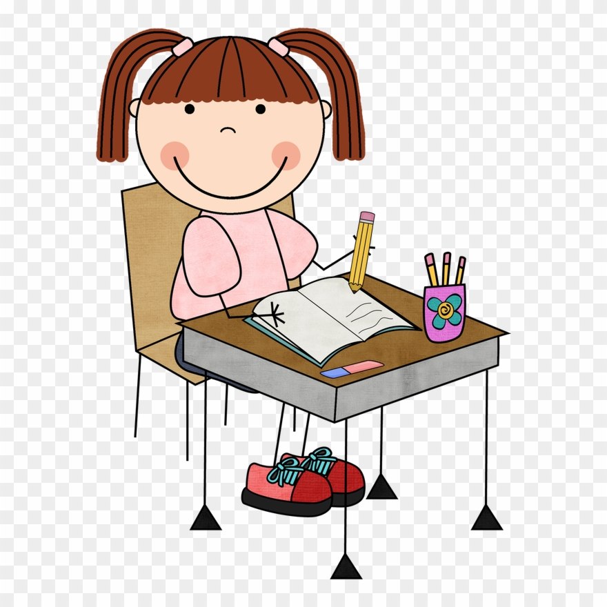 Picture clip art png. Clipart writing student