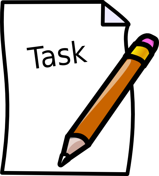 Schedule clipart timeliness. Task clip art at