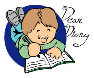 Journal clipart kids. Free writing cliparts download