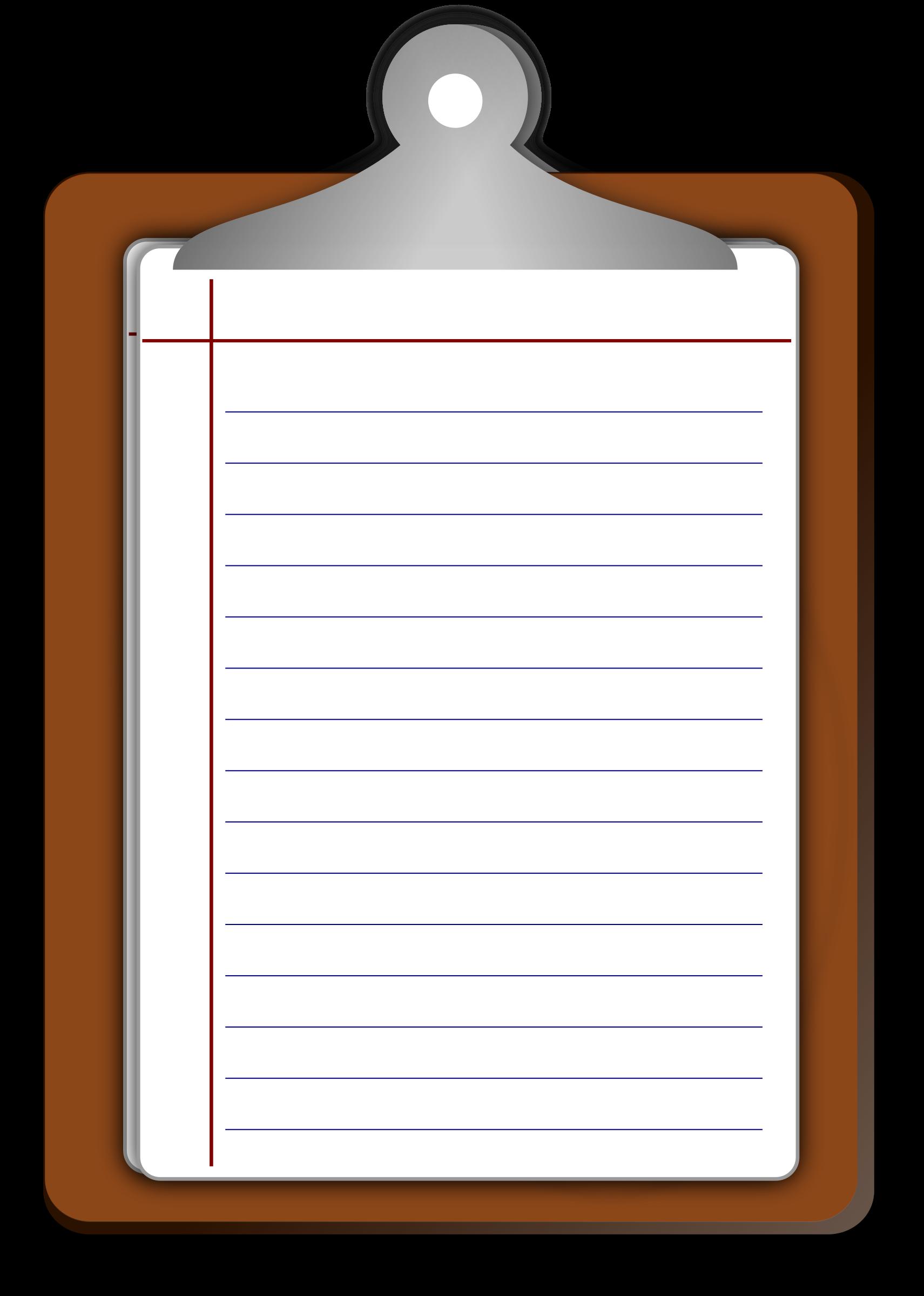 Clipart writing writing journal. Pad big image png