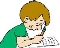 Write your clip art. Name clipart writing name