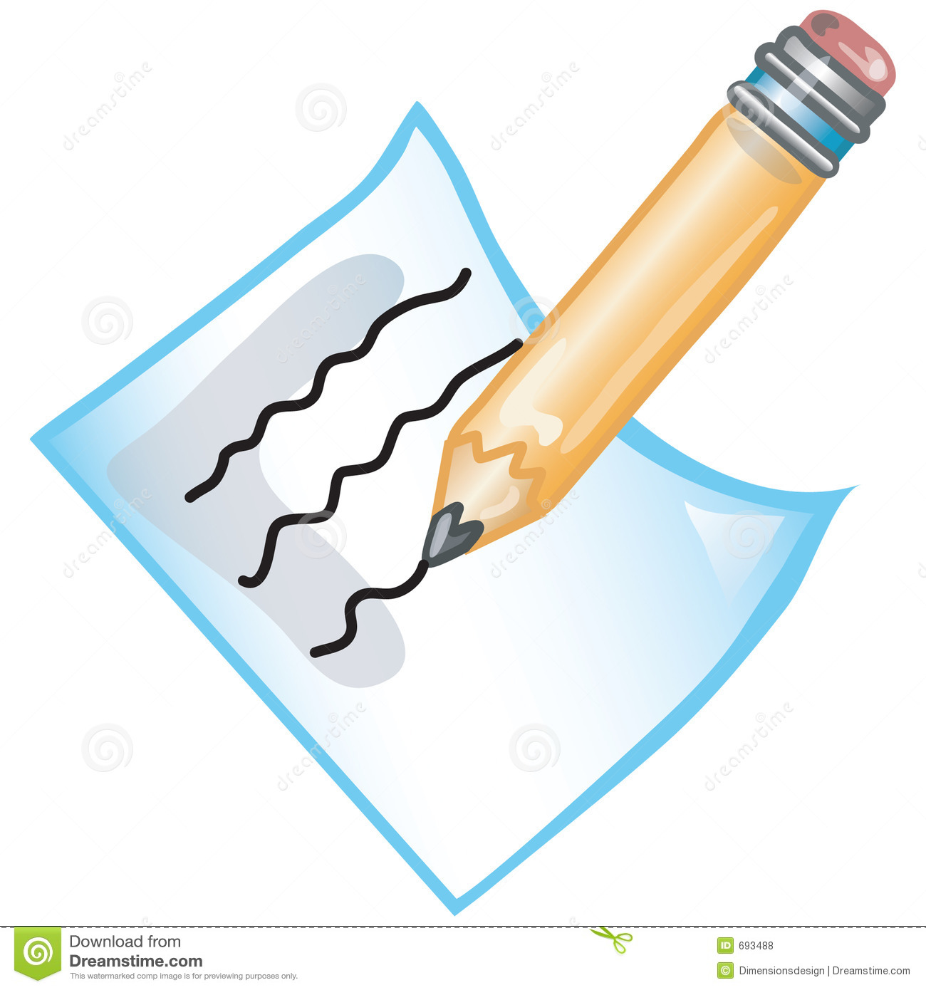 Clipart writing written note. Notes free download best