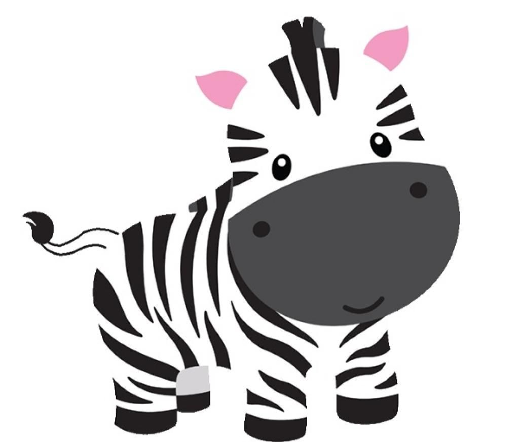 Clipart zebra. Top shower print baby