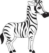 Free clip art pictures. Clipart zebra