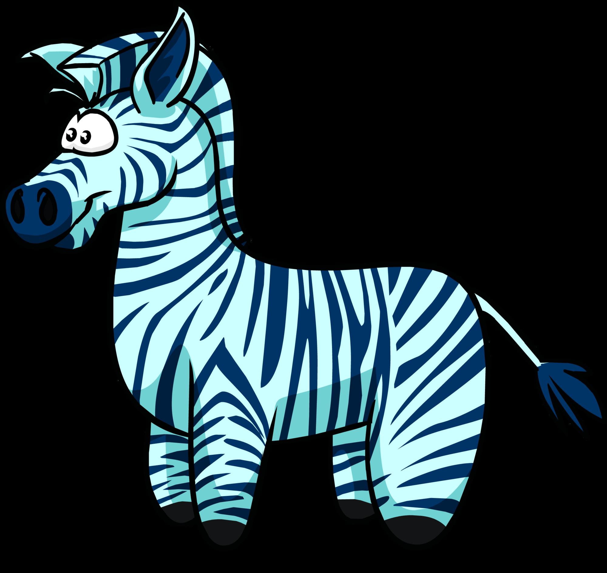 Club penguin wiki fandom. Clipart zebra blue zebra