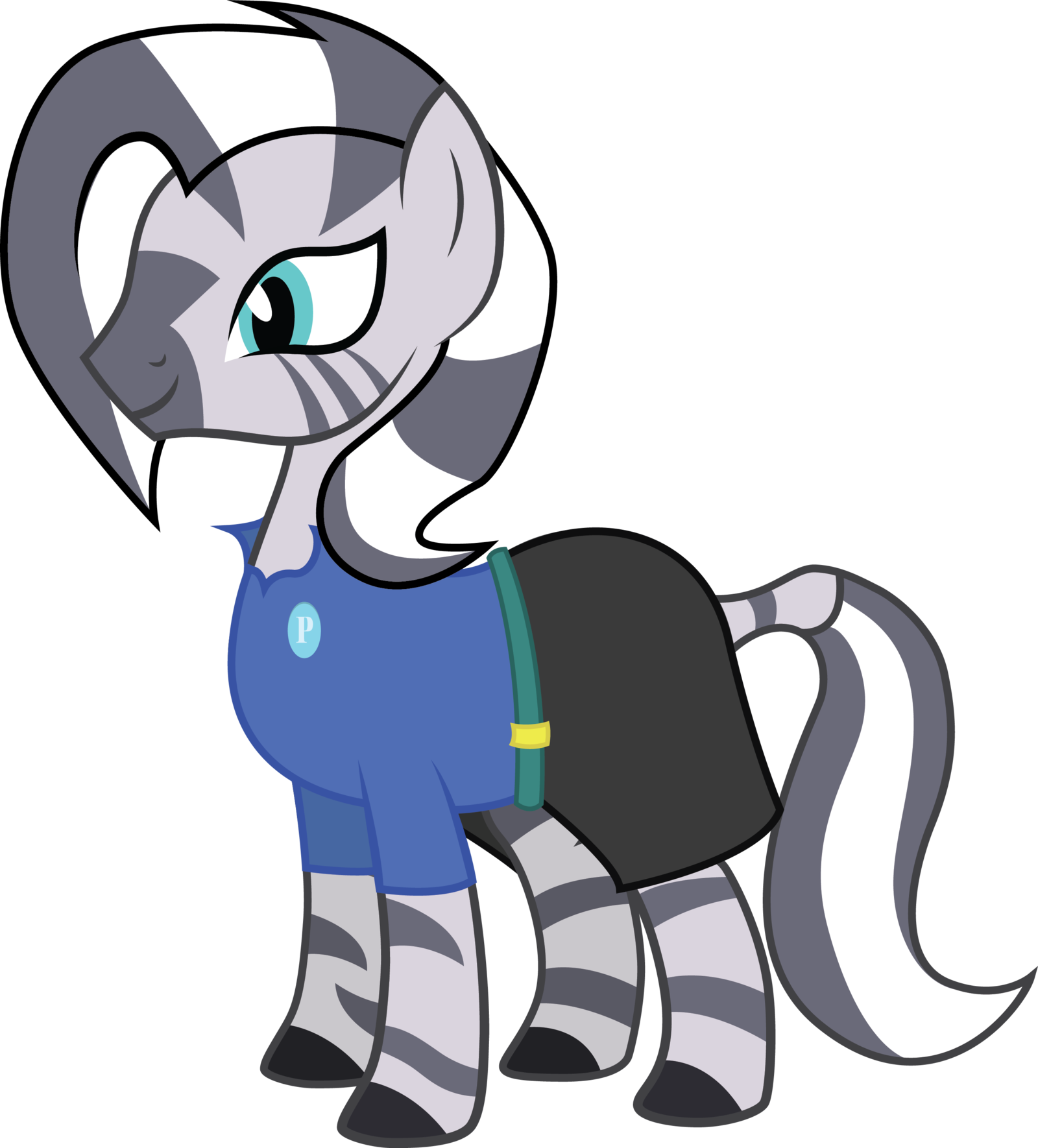 Clipart zebra cartoon female. Zuri by duskthebatpack on