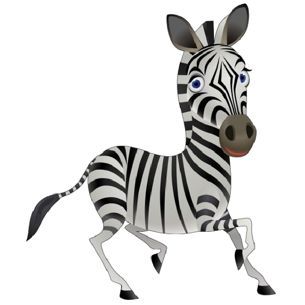 Free clip art bay. Clipart zebra cartoon female