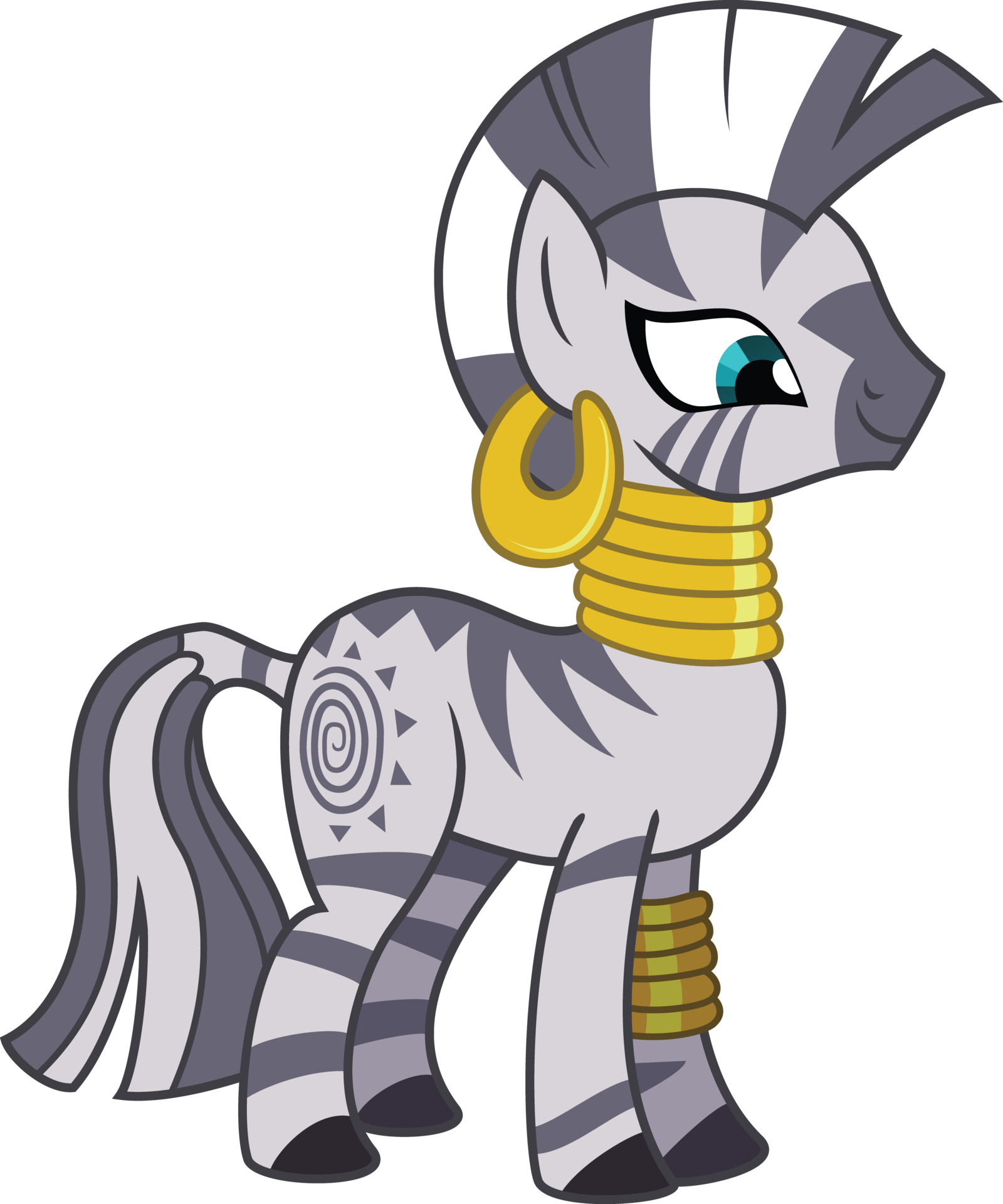 Zecora yuna s princess. Clipart zebra cartoon female
