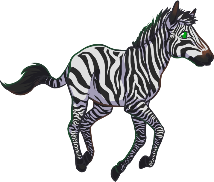 Clipart zebra chibi. By kio barbra on