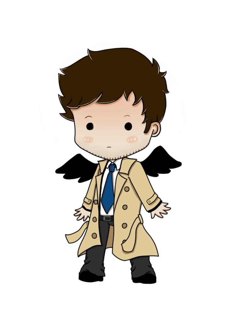 Castiel by freakingzebra on. Clipart zebra chibi