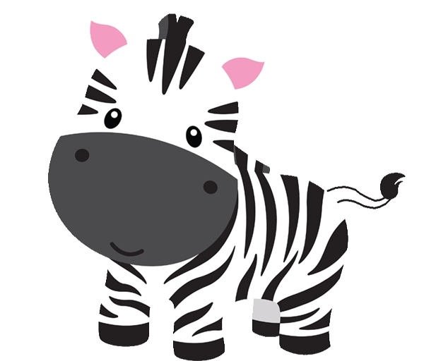 clipartlook. Clipart zebra cute baby