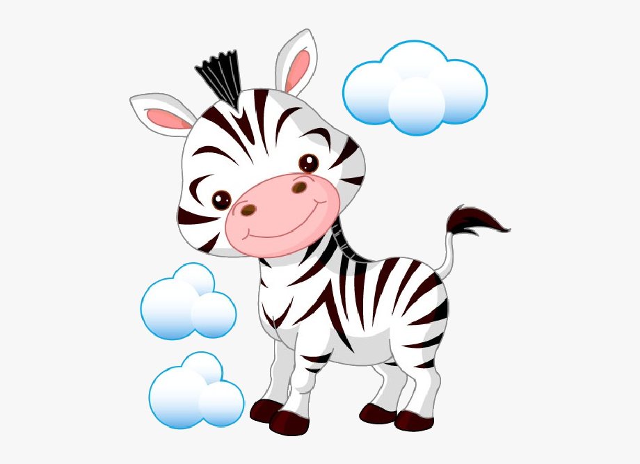 Funny pictures cartoon . Clipart zebra cute baby