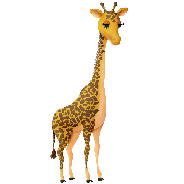 Images wikiclipart . Clipart zebra giraffe