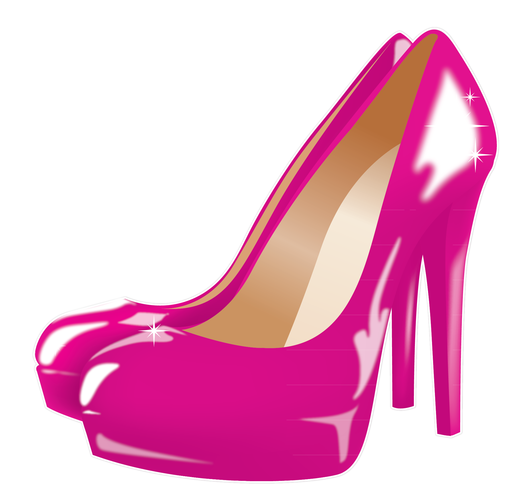 Pink clipart stilettos.  collection of heels