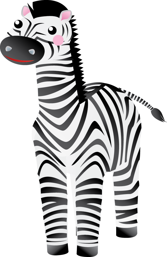 Girly clipart zebra. Zebras group to use