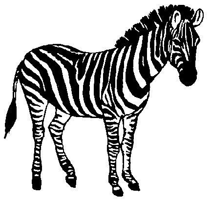 Clipart zebra pichers. Free zebras cliparts download