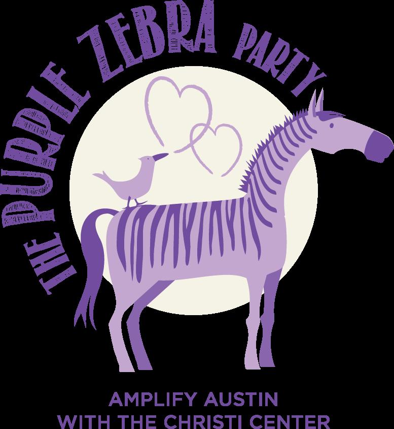 clipart zebra purple zebra