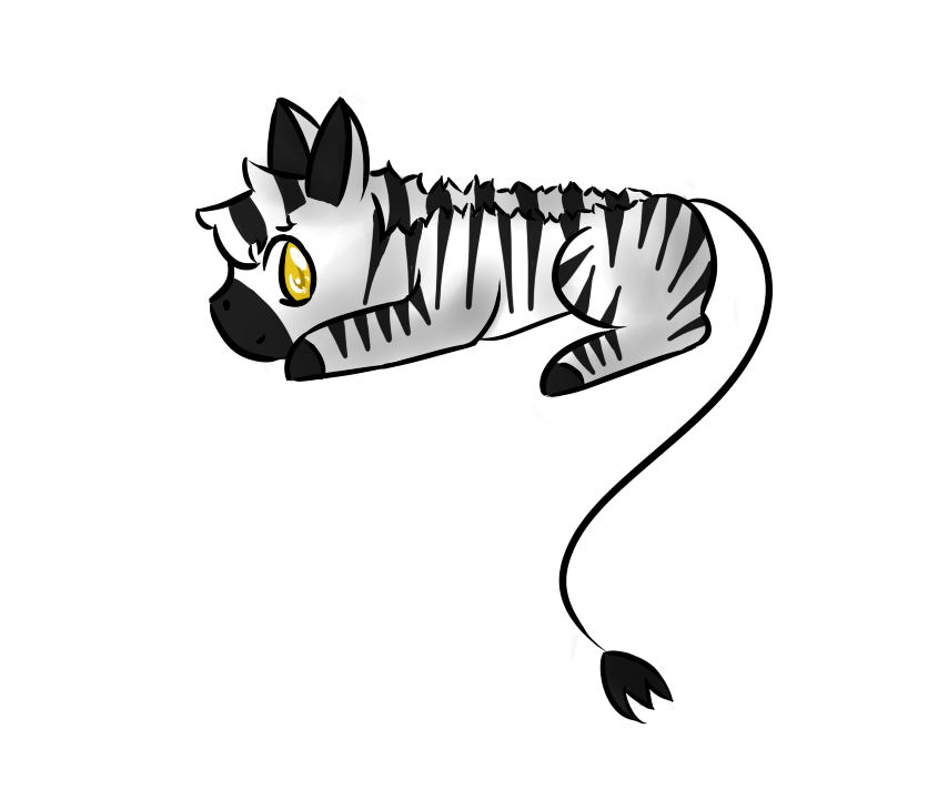 Chibi by akeriheart on. Clipart zebra sad
